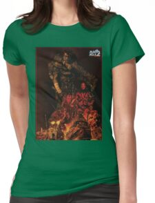 Mad Max 2 Road Warrior  Womens Fitted T-Shirt
