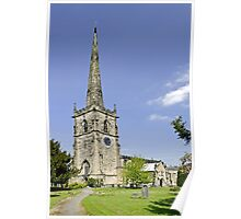 St Wystan's Church, Repton Poster