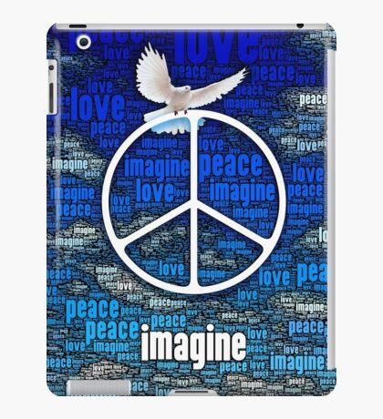 Imagine Peace iPad Case/Skin