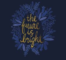 The Future is Bright – Navy & Gold Kids Clothes
