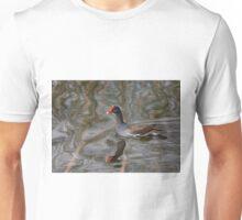 Contented Common Moorhen Unisex T-Shirt