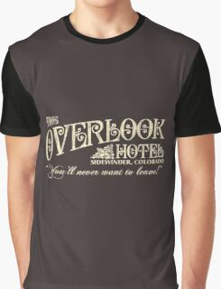 The Shining Overlook Hotel Graphic T-Shirt