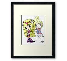 Windwaker Zelda Tetra Framed Print