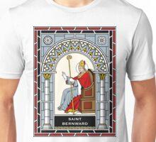 ST. BERNWARD OF HILDESHEIM under STAINED GLASS Unisex T-Shirt