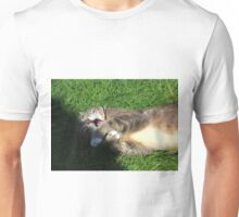 Excited cat Unisex T-Shirt