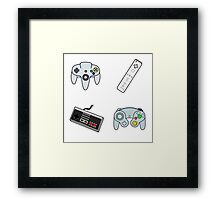Play Your Video Games Framed Print