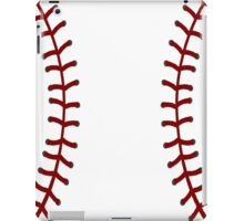 Baseball Laces II iPad Case/Skin