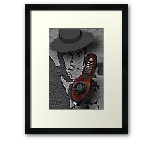 "♥•.¸¸.ஐ SECRET AGENT 86~MAXWELL SMART.. HELLO 99 PICK UP THE PHONE.. PICTURE/CARD.. MY TRIBUTE TO "" MAXWELL SMART♥•.¸¸.ஐ Framed Print"