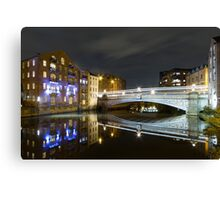 Riverside Reflections Canvas Print