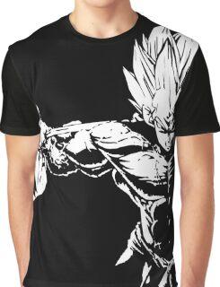 Vegeta Squat - Leg Day Motivation Graphic T-Shirt