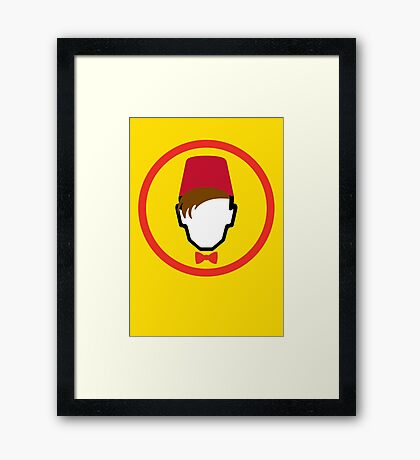 Man With Fez Framed Print