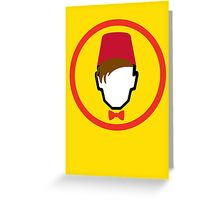 Man With Fez Greeting Card