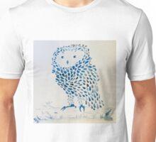 Owlet-Watercolour Unisex T-Shirt