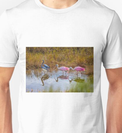 Three for Lunch Unisex T-Shirt