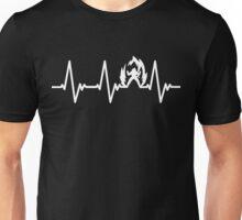 Goku Heartbeat Unisex T-Shirt