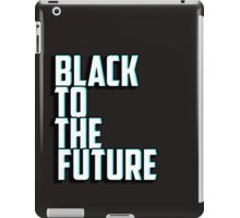 Black to the future iPad Case/Skin