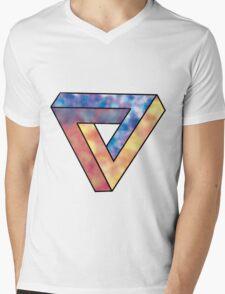 Penrose triangle Mens V-Neck T-Shirt