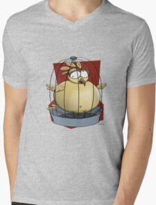 Fat Burd Mens V-Neck T-Shirt
