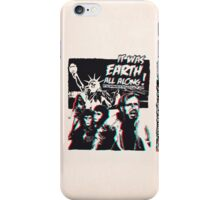Planet of the Apes - 3D ver. iPhone Case/Skin