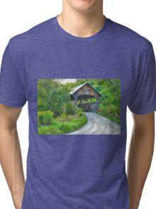 Coburn Covered Bridge Tri-blend T-Shirt