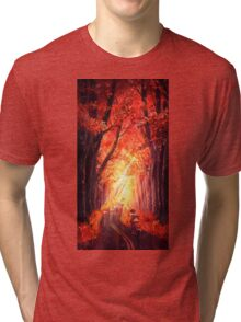 Autumn Ride Tri-blend T-Shirt