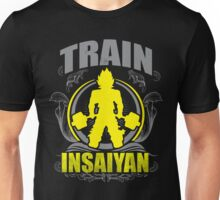 Train Insaiyan - Flowery Vintage Design Unisex T-Shirt