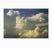 Blue Sky And Building Dramatic Storm Clouds Kids Clothes
