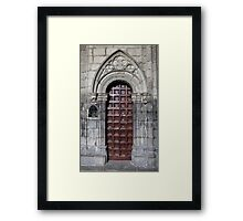 Gate Gothic Framed Print