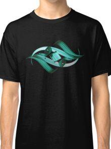 Green-blue Eye of Night Sky Classic T-Shirt