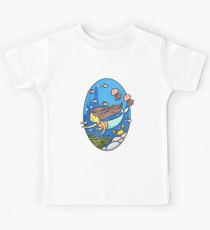 Mermaid Kids Tee