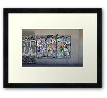 Art or vandalism Framed Print