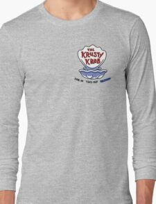 Krusty Crab Employees Only Long Sleeve T-Shirt