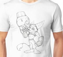 Ratchet & Clank - Official Ratchet Sketch Unisex T-Shirt