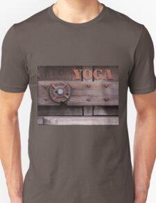 Rustic Yoga Unisex T-Shirt