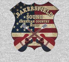Bakersfield Country Music California   Kids Tee