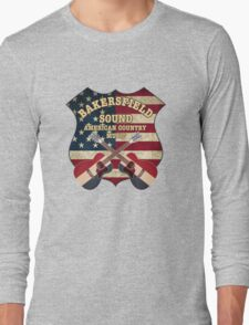 Bakersfield Country Music California   Long Sleeve T-Shirt