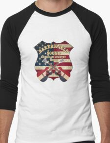 Bakersfield Country Music California   Men's Baseball ¾ T-Shirt
