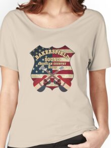 Bakersfield Country Music California   Women's Relaxed Fit T-Shirt