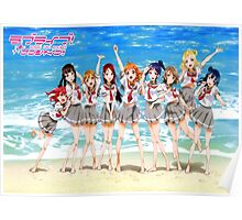 Love Live Sunshine! Aqours Poster Poster
