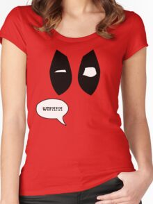 Loud Mouth Superhero Women's Fitted Scoop T-Shirt