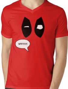 Loud Mouth Superhero Mens V-Neck T-Shirt