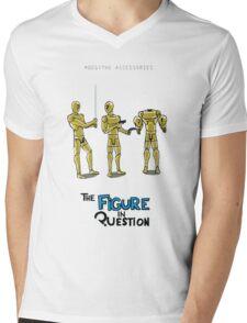 #001: The Accessories Mens V-Neck T-Shirt