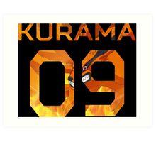 <MANGA> Kurama 09 Art Print