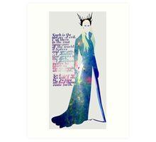 Elven King Art Print