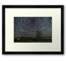 Galactic move Framed Print