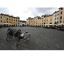 Bicycles in Lucca  Photographic Print