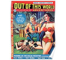 Out of this World Vol1 #2 1950 Golden Age Comic Cover Poster