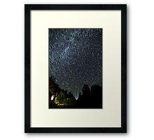 Star valley  Framed Print