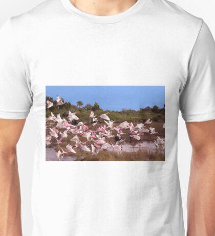 Birds Call To Flight Unisex T-Shirt