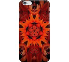 Lily kaleidescope iPhone Case/Skin